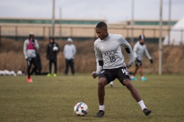 Kelvin Leerdam makes a move. ( Sounders FC)