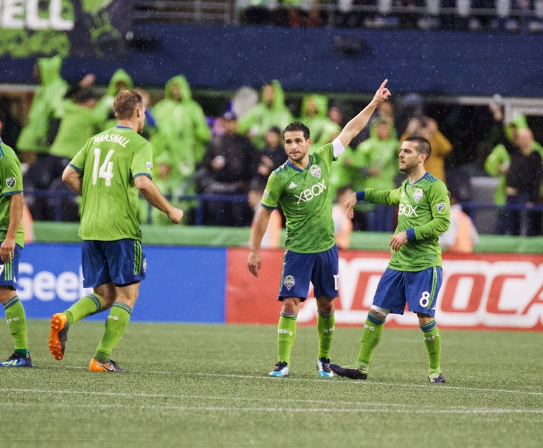 Lodeiro points upwards