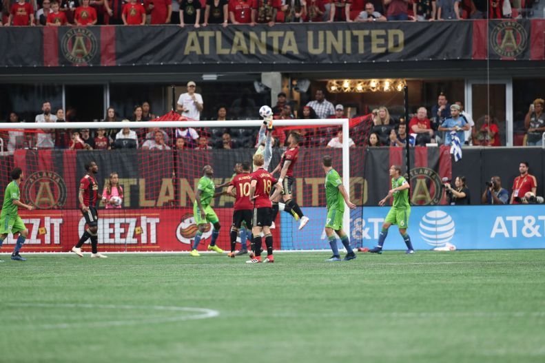 Frei save versus Atlanta