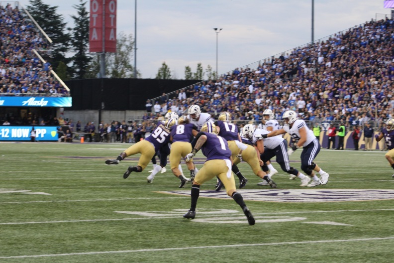 Byron Murphy goes after the ball