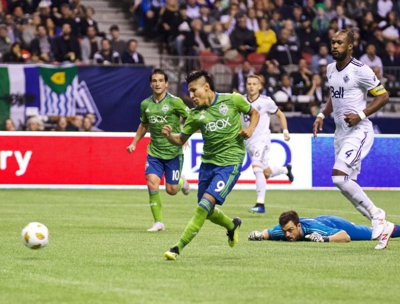 Diaz scores against Whitecaps